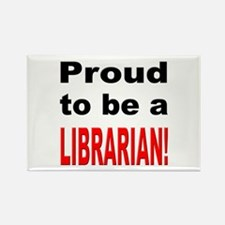Proud Librarian Rectangle Magnet