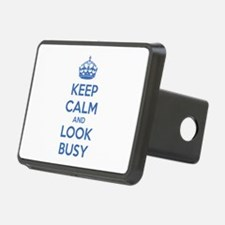 Keep calm and look busy Hitch Cover