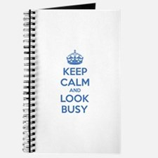 Keep calm and look busy Journal
