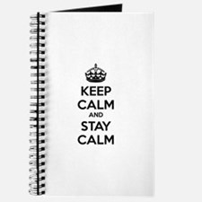 Keep calm and stay calm Journal