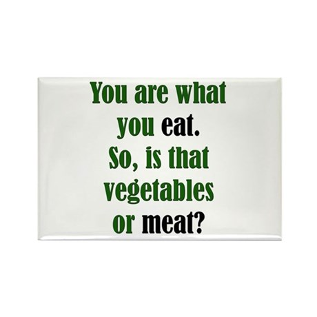 What You Eat Rectangle Magnet (100 pack)