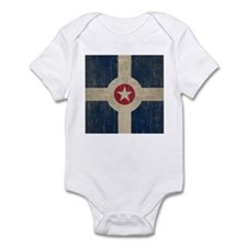 Vintage Indianapolis Flag Infant Bodysuit