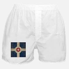 Vintage Indianapolis Flag Boxer Shorts