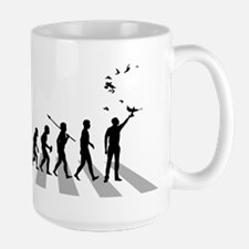 Pigeon Racer Large Mug