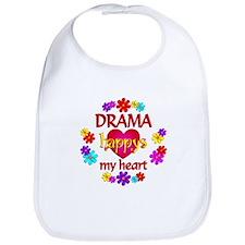 Happy Drama Bib