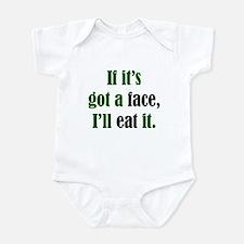 I'll Eat Faces Infant Creeper