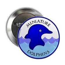 Miniature Dolphins Button
