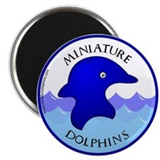 Miniature Dolphins Magnet