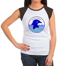 Miniature Dolphins Women's Cap Sleeve T-Shirt