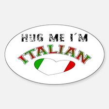 I'm Italian Oval Decal