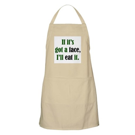I'll Eat Faces BBQ Apron