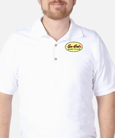 So Cal Surf Club 1 Golf Shirt