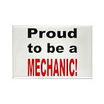 Proud Mechanic Rectangle Magnet