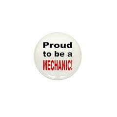 Proud Mechanic Mini Button