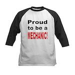 Proud Mechanic Kids Baseball Jersey