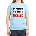 Proud Mechanic Women's Pink T-Shirt