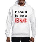 Proud Mechanic (Front) Hooded Sweatshirt