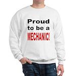 Proud Mechanic (Front) Sweatshirt