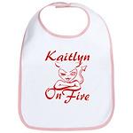 Kaitlyn On Fire Bib
