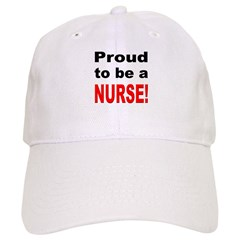 Proud Nurse Cap
