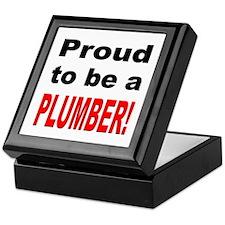 Proud Plumber Keepsake Box