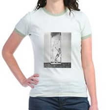 """The Thief of Bagdad"" Ladies Ringer T-Shirt"
