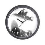 """The Thief of Bagdad"" Magic Carpet Wall Clock"