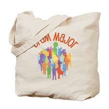Drum Major Band Collage Tote Bag