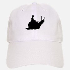 Snail Rider Baseball Baseball Cap