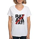 Headshot! Women's V-Neck T-Shirt