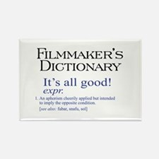 Film Dictionary: All Good! Rectangle Magnet