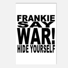Frankie Say War Hide Yourself Postcards (Package o