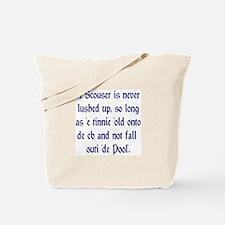 Scouser Lushed up Blue Tote Bag