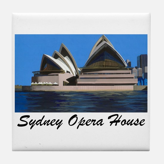 Opera House Painting Tile Coaster