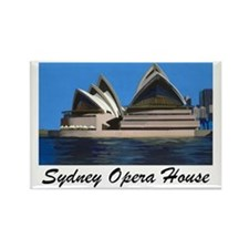 Opera House Painting Rectangle Magnet