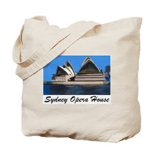 Opera House Painting Tote Bag