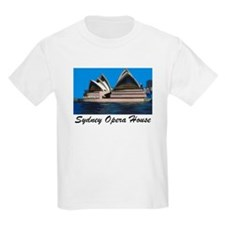 Opera House Painting Kids T-Shirt