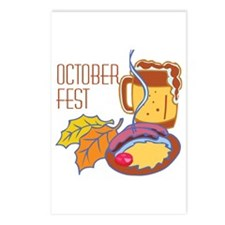 October Fest Postcards (Package of 8)