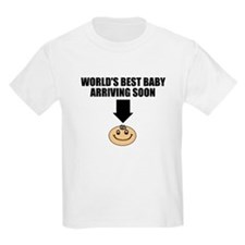WORLD'S BEST BABY ARRIVING SOON T-Shirt