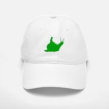 Green Snail Rider Baseball Baseball Cap