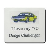 Dodge challenger mouse pad Classic Mousepad