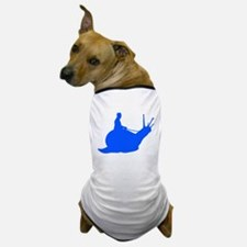 Blue Snail Rider Dog T-Shirt
