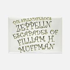 Filliam H. Muffman Rectangle Magnet