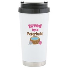 Loved By Peterbald Cat Travel Mug