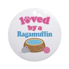 Loved By A Ragamuffin Ornament (Round)