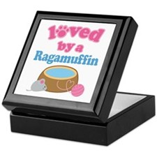 Loved By A Ragamuffin Keepsake Box
