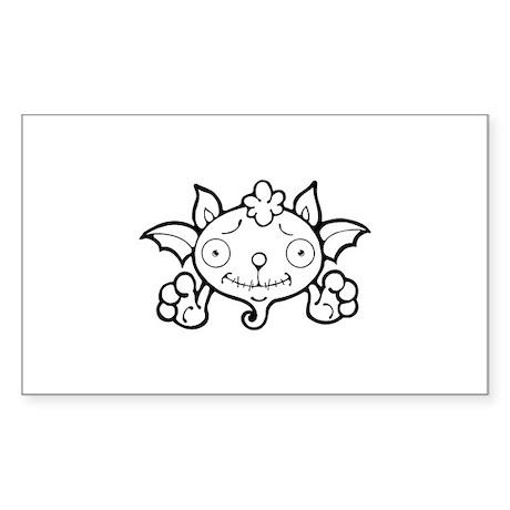 Halloween Sticker (Rectangle)