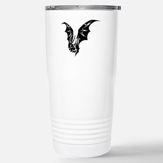 Bat Stainless Steel Travel Mug