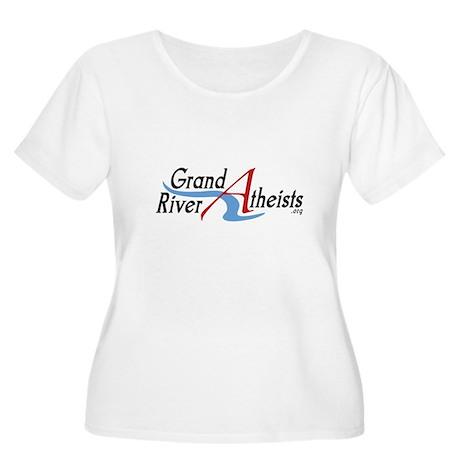 GRA_Logo_Tshirt_1.png Women's Plus Size Scoop Neck