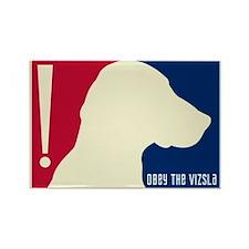Obey the VIZSLA! USA Tricolor Magnet